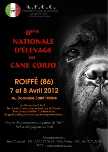 Nationale élevage Cane Corso 7-8 avril 2012 (entree gratuite)